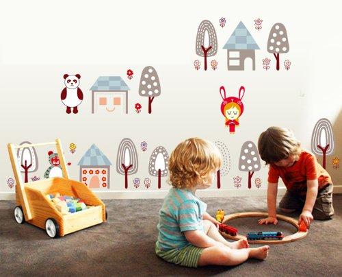 ... with Gelato Adesivi Murali Camera Dei Bambini Vivai Adesivi Da Parete