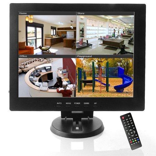 12Inch Cctv Tft Lcd Monitor Av / Hdmi / Bnc / Vga Input
