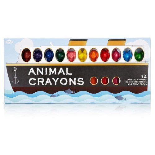 Animal Crayons, set of 12