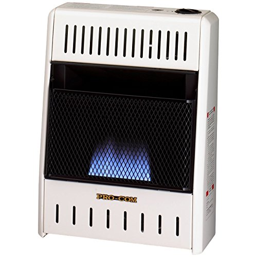 Procom ML100HBA Vent Free Liquid Propane Gas Blue Flame Space Heater - 10,000 BTU, Manual Control (Procom Gas Vent Free compare prices)