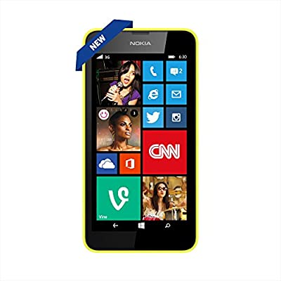 Nokia Lumia 630 (Single SIM, Yellow)