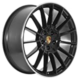 22 inch Black Porsche Cayenne S GTS Turbo Wheels Rims