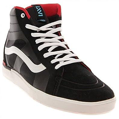 Vans parameter unisex sneakers shoes black for Vans amazon