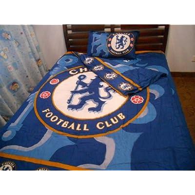 Amazon.com : Chelsea Football Club Soccer Team Fans 4pcs ...
