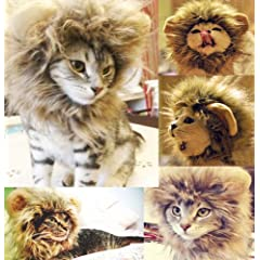 Generic Cat Costume Lion Mane Wig
