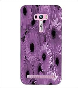 PrintDhaba Flowers D-3890 Back Case Cover for ASUS ZENFONE SELFIE ZD551KL (Multi-Coloured)