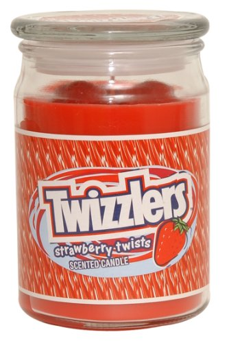 Hershey's by Hanna's Candle 17-Ounce Twizzlers Jar Candle
