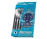 HARROWS Black Arrow Steel Tip Darts 23g