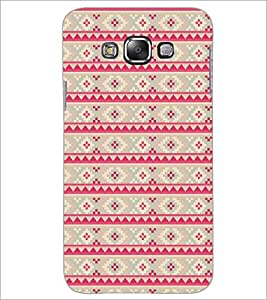 PrintDhaba Pattern D-5212 Back Case Cover for SAMSUNG GALAXY A7 (Multi-Coloured)