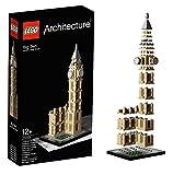 LEGO European Architecture 3 Set Bundle - Eiffel Tower 21019 Big Ben 21013 Tower of Pisa 21015