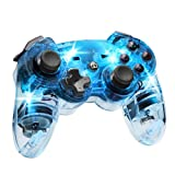 Afterglow Wireless Controller, Blue - PlayStation 3