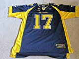 MICHIGAN WOLVERINES ADULT SHORT SLEEVE FOOTBALL JERSEY LARGE at Amazon.com
