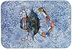 Carolines Treasures 8149-CMT Crab Kitchen or Bath Mat, 20 by 30 , Multicolor