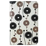 Caseguru HP Slate 7 Dandelion Flower Printed Pattern Premium Luxury Multi Function Standby Slim Case Cover