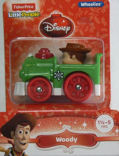 Fisher-Price Little People Wheelies Disney Woody - 1