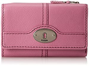 Fossil Marlow Multi Function Wallet,Azalea,One Size