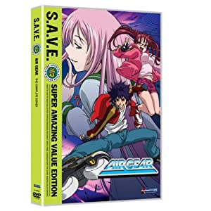 Air Gear anime DvD