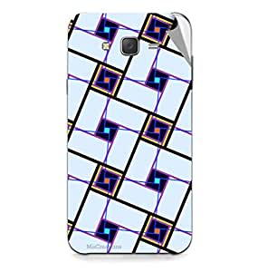 Miicreations Mobile Skin Sticker For Samsung Galaxy J7,Pattern