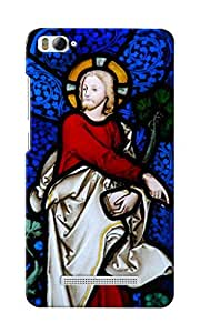 KnapCase Religious Stained Glass Designer 3D Printed Case Cover For Xiaomi Mi 4i