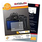 3 x atFoliX Screen Protection Canon EOS 550D (Rebel T2i) - FX-Antireflex anti-reflective