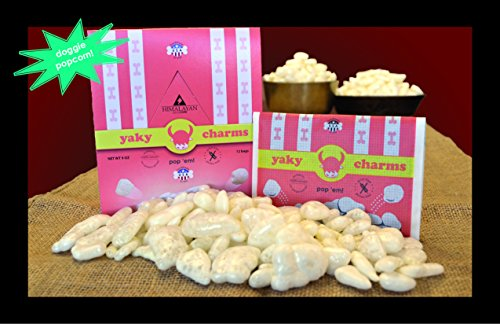 Himalayan ★ Yaky Charms Dog Treat ★ Dog Popcorn ★ 3 Pack ★ Made In Usa