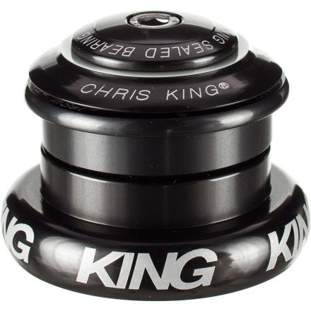 Chris King Inset 7 Headset Pewter, Tapered Inset