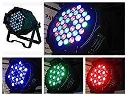 Par Light For Discos and Home Decorations in Diwali Or Other Festivities 36 pcs 3W LED