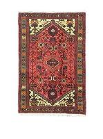 Eden Alfombra Hamadan Rojo/Multicolor 84 x 125 cm