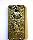 (320bi4) Han Solo Frozen in Carbonite Apple iPhone 4 / 4S Black Case STAR WARS