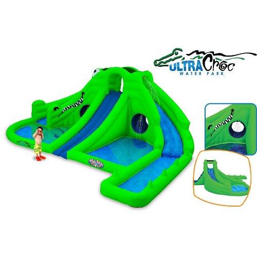 Blast Zone Ultra Croc Huge Inflatable Water Park 773 78