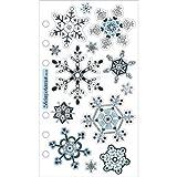 Sticko Vellum Stickers - Snowflakes
