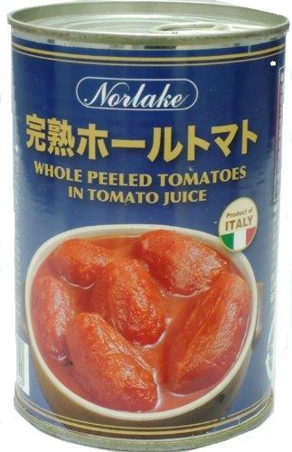ノルレェイク イタリア産トマト缶ホール 400g×24缶