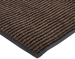 NoTrax 117 Heritage Rib Entrance Mat, for Lobbies and Indoor Entranceways, 3\' Width x 6\' Length x 3/8\