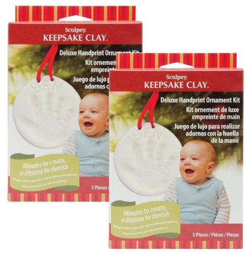 Sculpey Keepsake Deluxe Handprint Kit, 2 Sets - 1