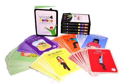 Yoga 4 Classrooms Activity Card Deck (Yoga Kids Cards compare prices)