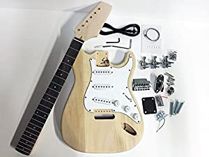 DIY Strat Style Build Your Own Electric Guitar Kit from The FretWire