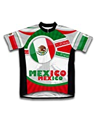 Mexico Short Sleeve Cycling Jersey for Women