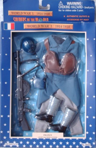 Buy Low Price Formative International 12″ WWI French Light Machine Gunner Action Figure Accessary Outfit (1997) (B001UM6S76)