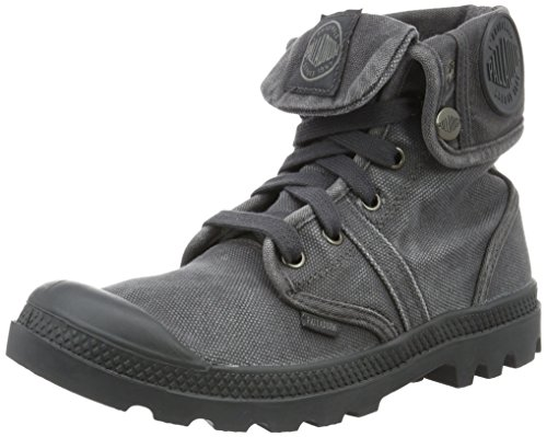Palladium Pallabrouse Baggy, Stivali Combat Donna, Grigio (Forged Iron/Brush Nickel 084), 41 EU