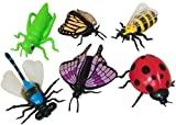 Fun Express Educational Products - Vinyl Insect Finger Puppets - Includes 12 assorted vinyl insect finger puppets