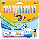 Bic Kids Kid Couleur XL Feutre ultra lavable Couleurs assorties