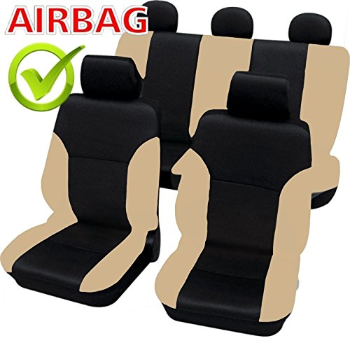 sb102 housse de si ge set auto protecteur de si ge couvre si ge voiture avec airbag lat ra. Black Bedroom Furniture Sets. Home Design Ideas