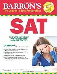 Barron's SAT, 26th Edition (Barron's Sat (Book Only))