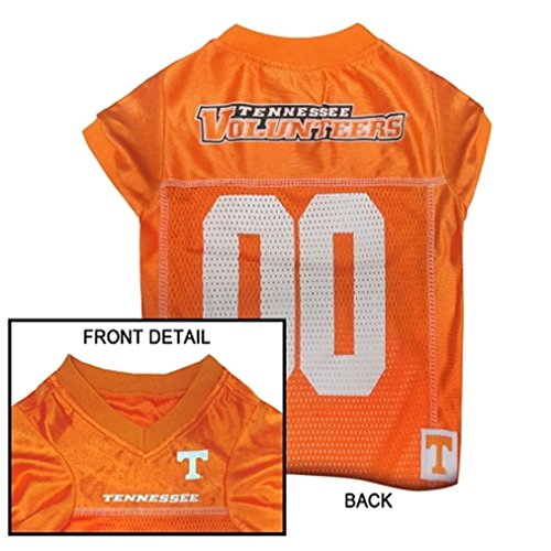 NCAA Dog Jersey, Medium, University of Tennessee Volunteers