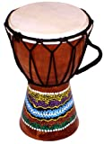 Children's Djembe Drum/Bongo Drum Hand Painted (Height: 15cm)