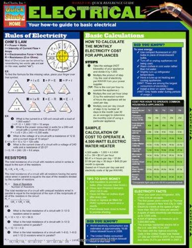 Electrical (Tri-Fold Laminated Chart) PDF