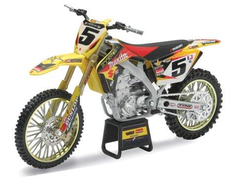 New Ray Toys Offroad 1:12 Scale Motorcycle Rockstar/Makita/Yoshimura/Suzuki Dungey