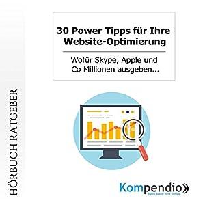 30 Power Tipps für Ihre Website-Optimierung Hörbuch