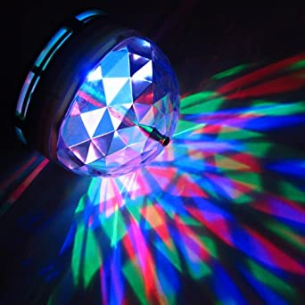 Disco light torch