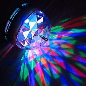 Disco light torch